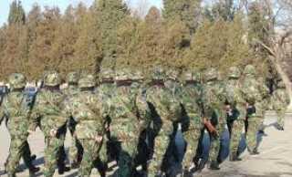 военнослужещи от военно формирование 22180 - Казанлък